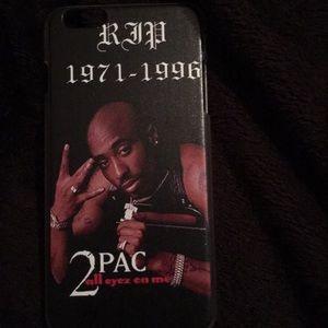 Accessories - Tupac iPhone 6s Plus case